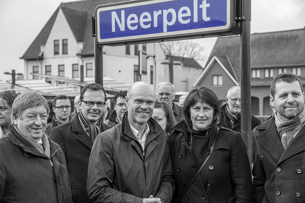Inhuldiging Station Neerpelt